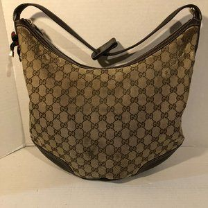 GUCCI Princy Large Brown Canvas Monogram